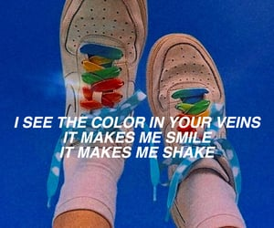 aesthetic, rainbow, and song image