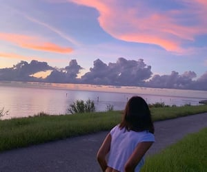 aesthetic, nature, and sky image
