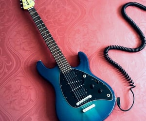 aesthetic, blue, and rock and roll image