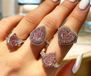 diamonds, fashion, and pink image