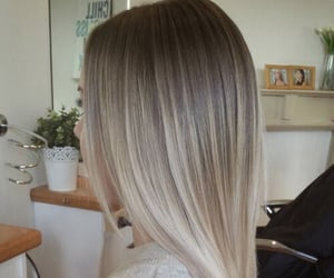 hair, balayage, and style image