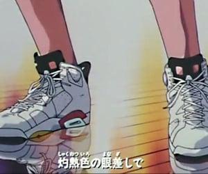80s, anime, and nike image