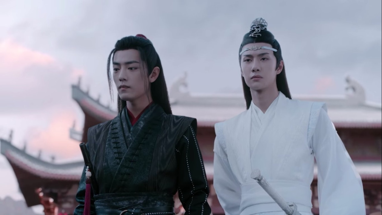 china, couple, and drama image