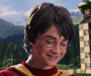 golden snitch, harry potter, and movie image