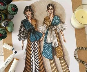 art, fashion, and moda image