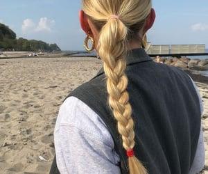 braid, hair, and pinterest image