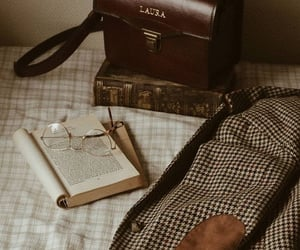 dark academia, book, and vintage image