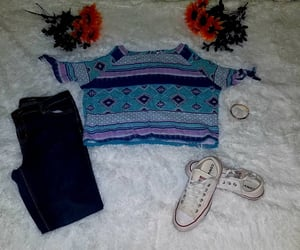converse, shop, and blue top image