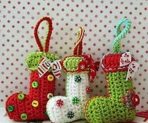 christmas, crochet, and diy image