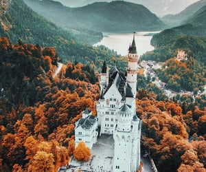 castle, nature, and fall image