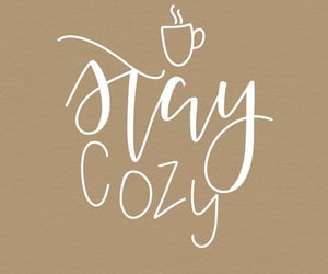 cozy, quotes, and coffee image