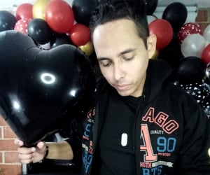 balloons, casino, and selfie image