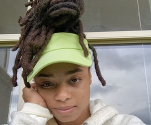 dreadlocks, naturalhairstyles, and blackgirlmagic image