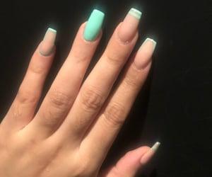 ade, green, and green nails image