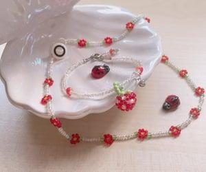 bracelet, handmade, and jewel image