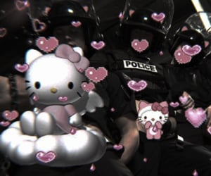 aesthetic, hello kitty, and theme image