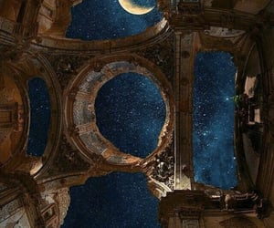 stars, sky, and moon image