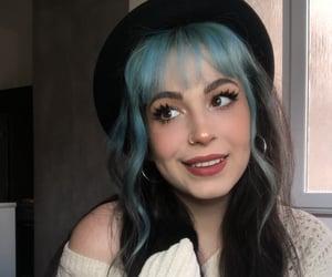 Blue bangs 💙 It was one of my fav tbh! IG: anxiousluna