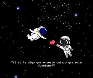 amor, frases español, and pareja image