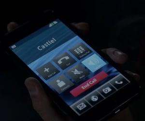 call, dark, and phone image