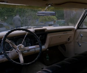 cabin, car, and dean winchester image