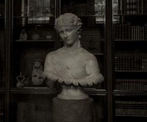 aesthetic, dark academia, and books image