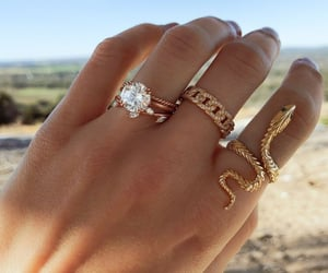 rings, accessories, and diamonds image