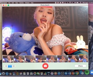 edit, photobooth, and park chaeyoung image
