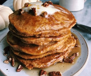 brunch, pancakes, and sweet image