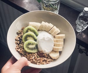 banana, autumn, and breakfast image