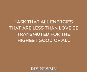 affirmation, divine, and empowerment image