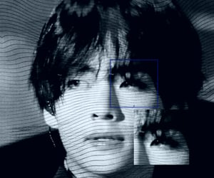 cybercore, bts taehyung, and cyber image