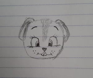 cutest, dog, and draw image