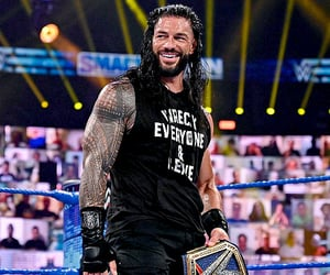 wwe, edits, and roman reigns image
