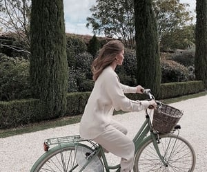 Bike ride, fancy, and fashion image