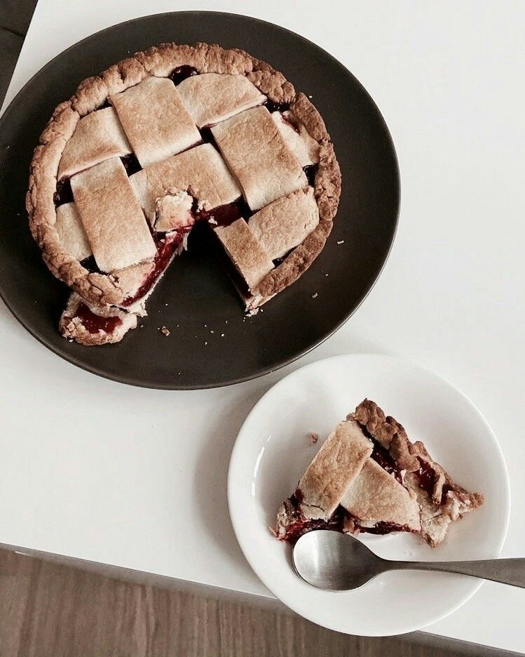 pie, aesthetic, and dessert image