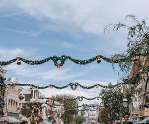 Disneyland at Christmas time ✨