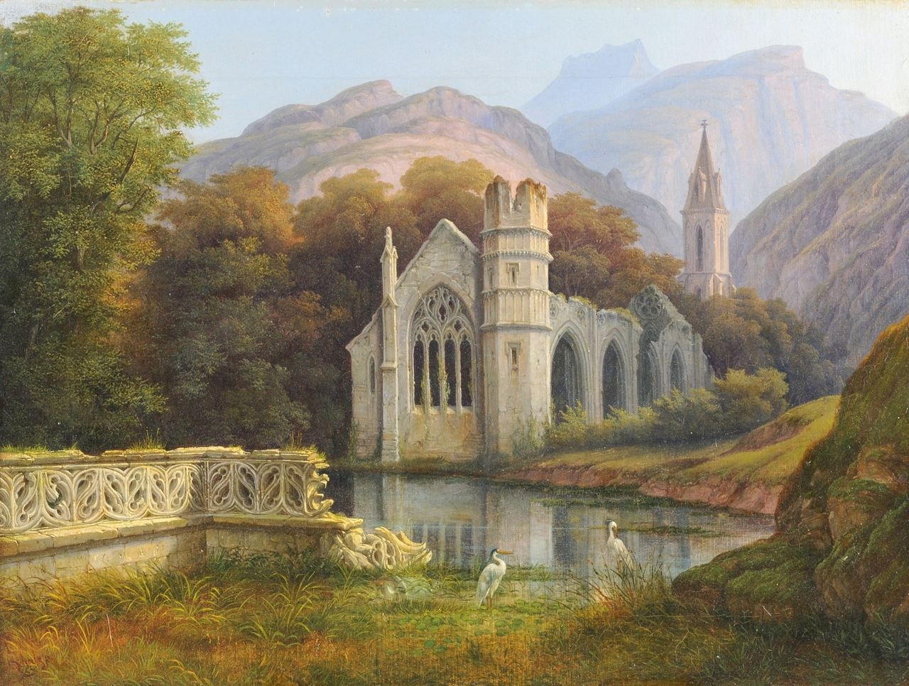 19th century, dawn, and gothic image