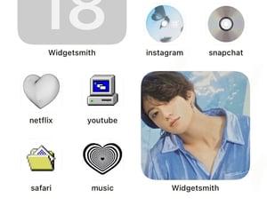 kpop, light blue, and bts image