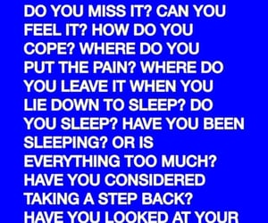quotes and blue image