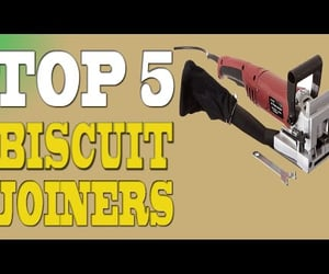 video, joiners, and biscuit joiner image
