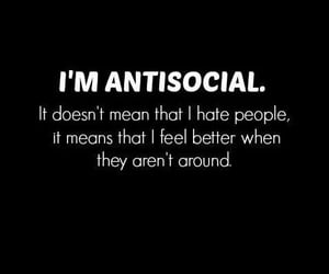 hate, people, and antisocial image