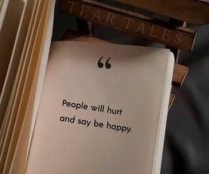 happy, hurt, and quote image