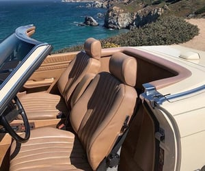 car, sea, and travel image