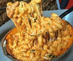 yummy, macaroni, eating and eat - image #7714214 on Favim.com