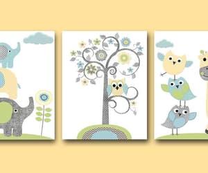 etsy, nursery decoration, and elephant nursery image