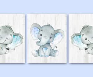 canvas print, nursery print, and print wall art image