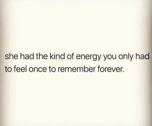 energy, feel, and forever image
