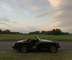 black, road, and car image