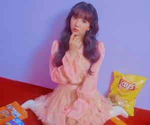 kpop, yua, and honey popcorn image